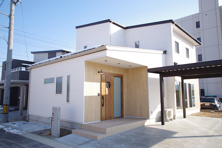 駄経寺の家