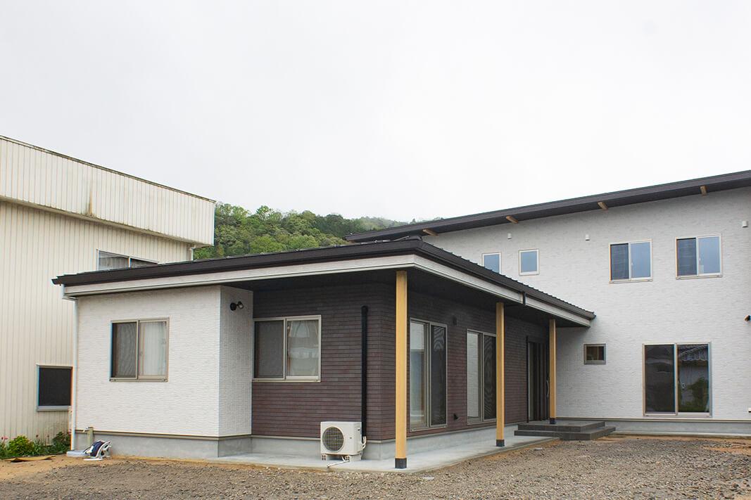 四世代の家(三朝町)